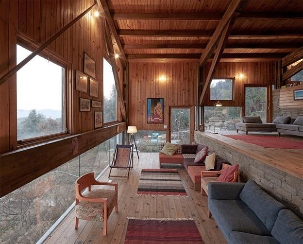 Дом гора