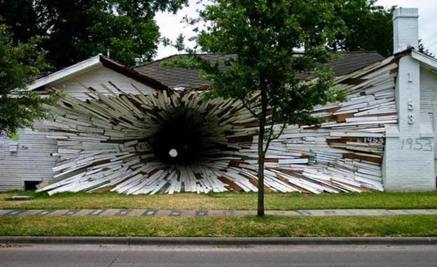 Дом туннель