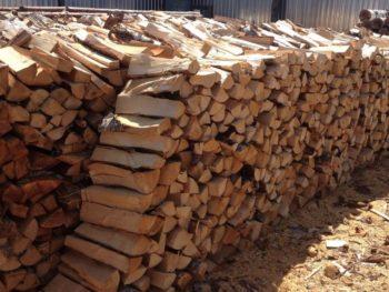 Березовые дрова с пилорамы